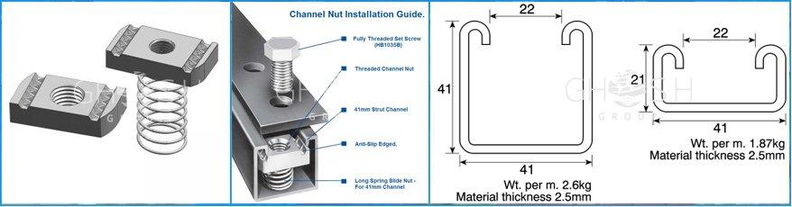 Quality Unistrut Channel Suppliers Manufacturers Uae