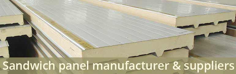 Sandwich panel manufacturer suppliers's Dubai | UAE | Oman | Saudi | Qatar | Tanzania