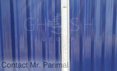 5010 Dark blue Fencing supplier in UAE - Dubai, Sharjah, Ajman, Abu Dhabi, Ras Al-Khaimah, Al'Ain, Fujairah