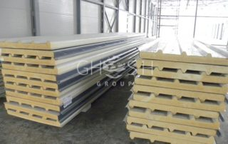 Sandwich panel suppliers, manufacturer's UAE - Dubai, Sharjah, Ajman