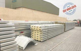 Sandwich panel suppliers, manufacturer's UAE - Dubai, Sharjah, Ajman