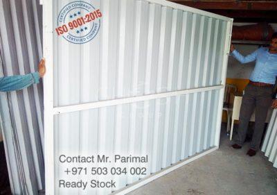 Corrugated Sheet Gate -manufacturer - Globe Metals UAE