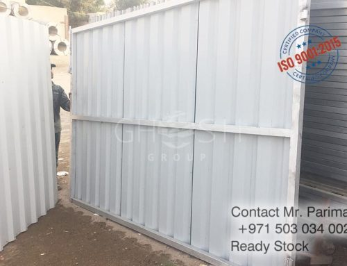 Corrugated gate manufacturer – UAE – Dubai, Sharjah, Ajman..