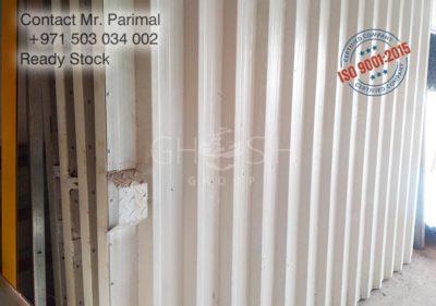 Corrugated metal and fence gate supplier UAE - Dubai, Sharjah