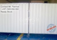 Discontinue fencing panel supplier - UAE- Dubai
