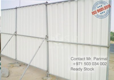 Fencing pipe support supplier in UAE- Dubai. Sharjah