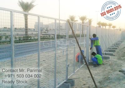 Mesh gate for pool, event, construction sites etc., supplier