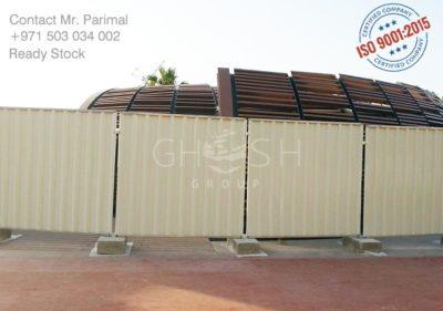 Temporary fencing Dubai Sharjah, Ajman, Abu Dhabi, Ras Al-Khaimah, Al'Ain, Fujairah