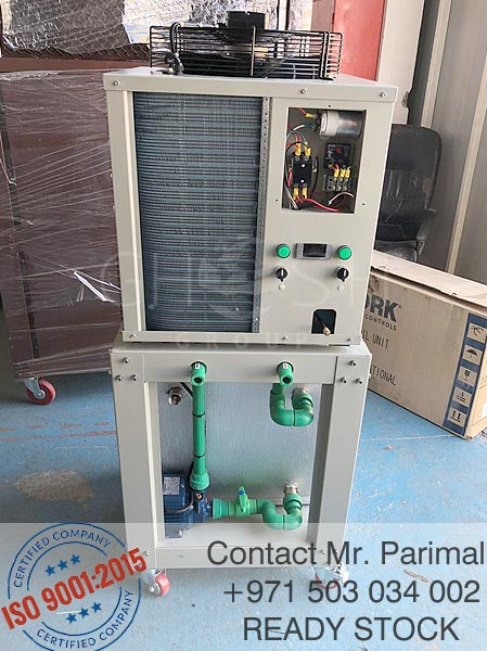 3Ton water chiller with inbuilt tank