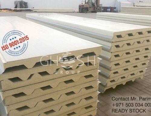Iso9001 2015 45x250 Sandwich Roof Panel Supplier In Dubai