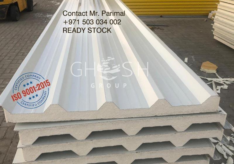 Insulated roof panel supplier in Dubai, Sharjah, Ajman, Abu