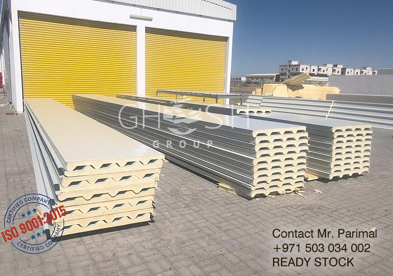 Sandwich panel roof supplier - UAE - Dubai, Sharjah, Ajman